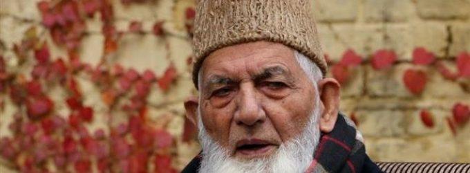 Kashmiri leader calls for peaceful protests, blasts information blockade