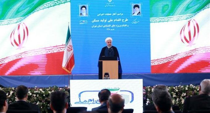 Rouhani: No talks with US unless bans lifted, Iran rights respected