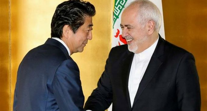 Iran FM hails 'constructive' talks with Japan officials after meeting Abe