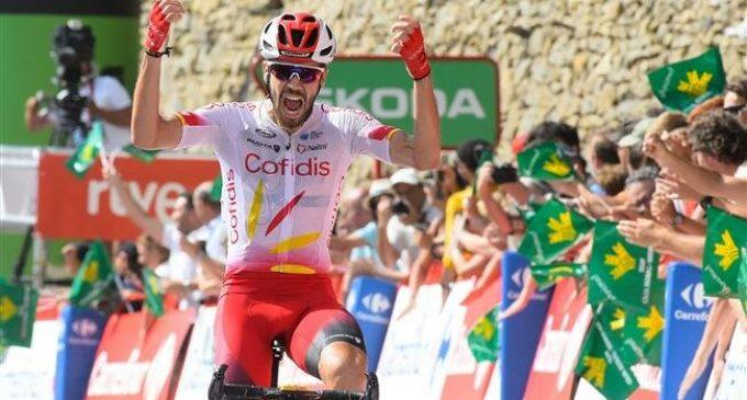 La Vuelta: Jesus Herrada wins Stage 6