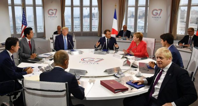Communication – the only issue of the G-7 summit in Biarritz, by Thierry Meyssan