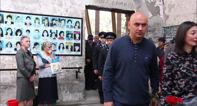 15th anniversary of the Beslan school attack