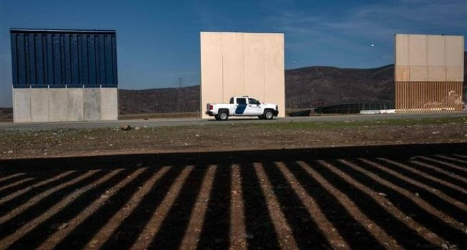 Pentagon approves 3.6 billion for wall construction on Mexican border