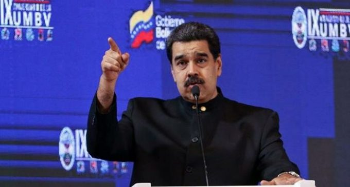 Venezuela's Maduro orders military alert against Colombia
