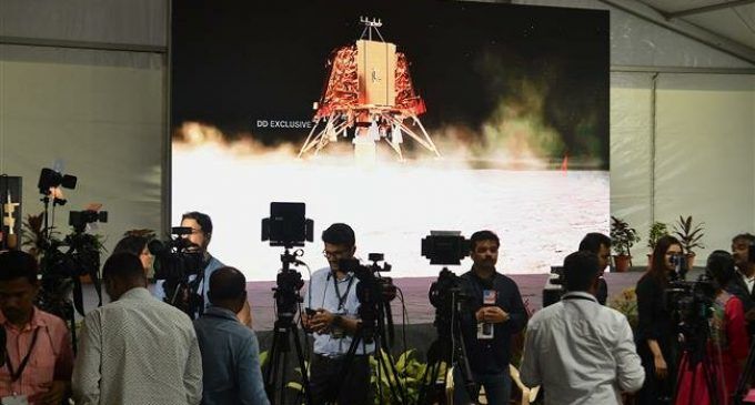 India loses contact with unmanned spacecraft trying to land on the Moon