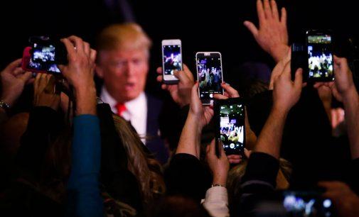 Trump Brushes Israeli Dragnet Surveillance of D.C. Under the Rug
