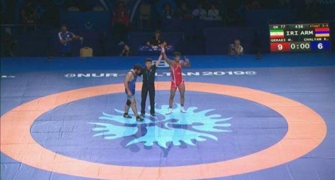 World Wrestling Championships: Iran's Geraei bags bronze