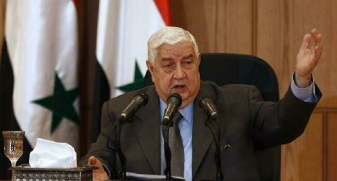 Muallem vows to 'liberate every inch' of Syria from terrorists