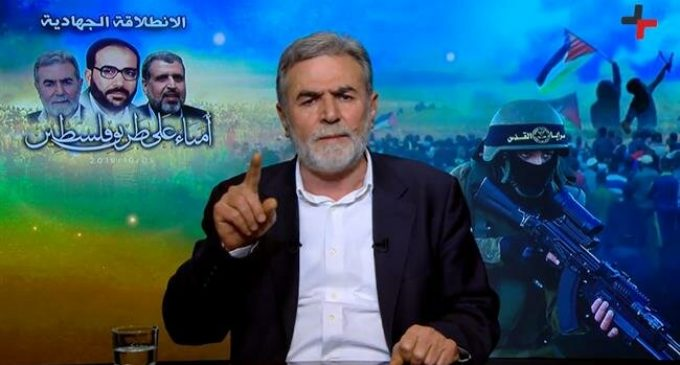 Resistance only way to restore Palestinians' rights: Islamic Jihad leader