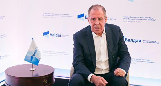 Sergey Lavrov at the Valdai Club, by Sergey Lavrov