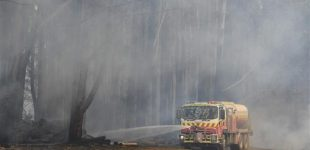 Australia orders evacuations as fires reach Sydney suburbs