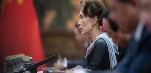 Myanmar's Suu Kyi sued for first time over Rohingya