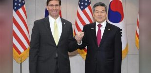 Pentagon chief Esper says South Korea should pay more for US troops