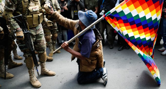 Media Silent as Bolivia's New Right-Wing Gov't Massacres Indigenous Protesters