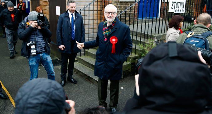 Labour Leader Jeremy Corbyn to Step Down After UK Election Catastrophe