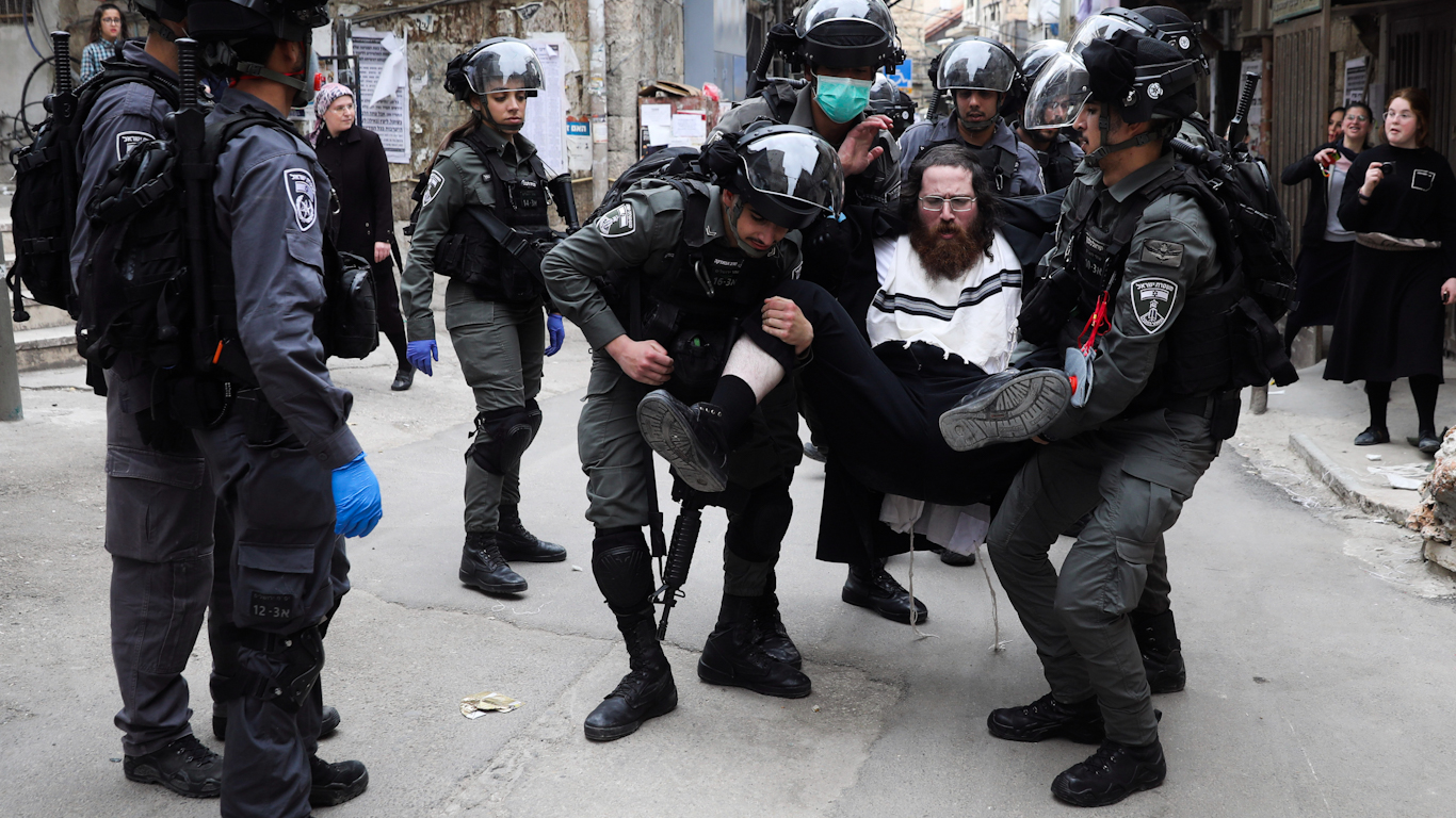 COVID-19: The Zionist Underpinnings of Israel's Violent Crackdown on Haredi Jews