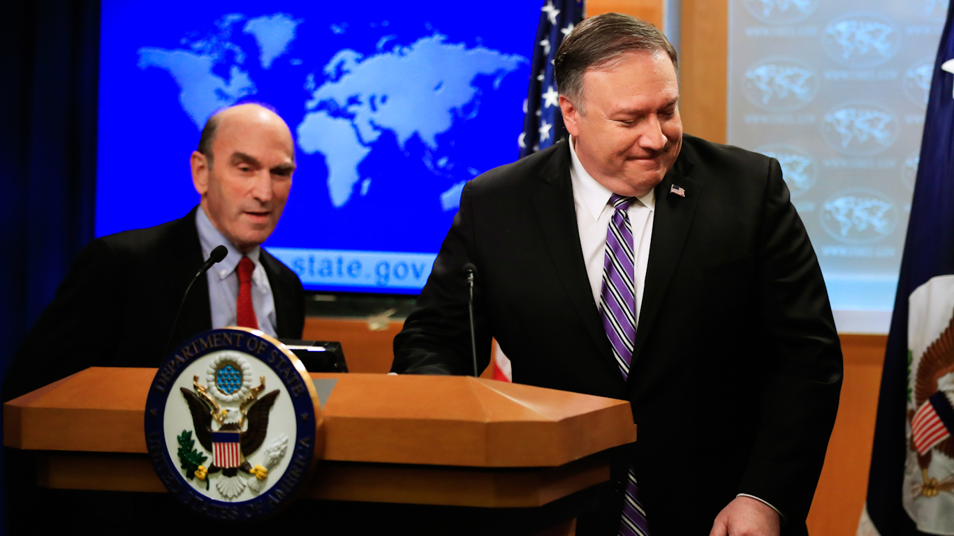 Exactly 18 Years After US Coup Against Venezuela, Pompeo and Abrams Warn Another is Coming