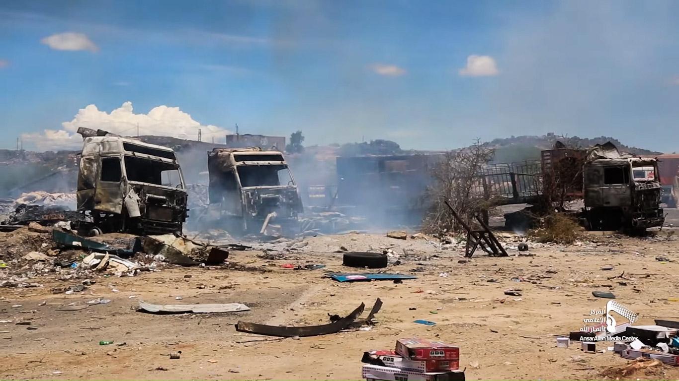 As COVID-19 Grips Yemen, Saudi Warplanes Target Trucks Laden with Medical Supplies