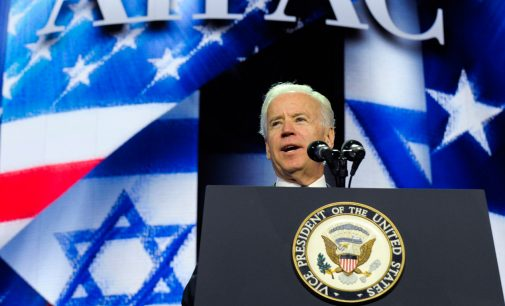 Biden: Criticism of Israel Is Not Anti-Semitism, Unless It Comes From the Left