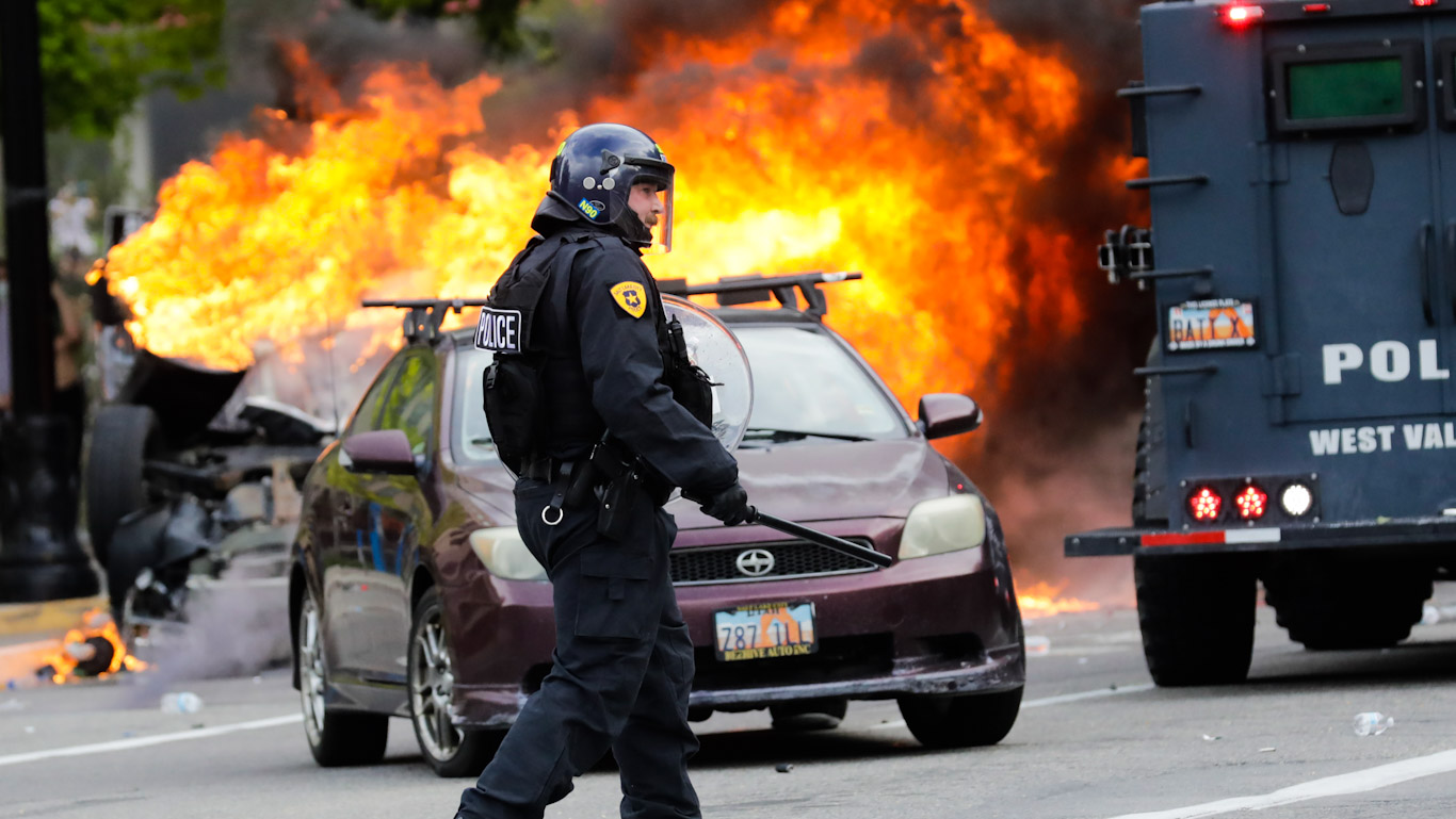 Agent Provocateurs: Police at Protests All Over the Country Caught Destroying Property