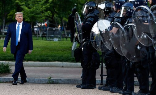 Democrats Recently Voted to Give Trump Even MORE Police Power