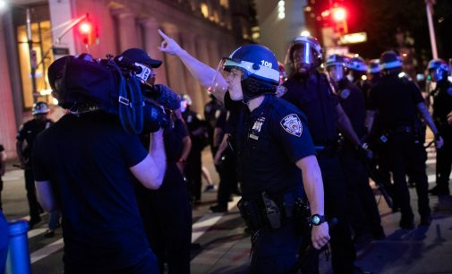 Manipulating the Message: Police Attacks on Free Press and the Fencing in of Humanity