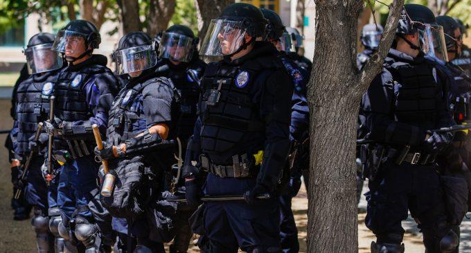 Aurora Police Violently Crackdown on Peaceful Vigil for Black Man Killed in Police Chokehold