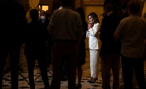 Nancy Pelosi Has a Solution to COVID-Induced to Hunger, Evictions and Poverty: Pray for Republicans