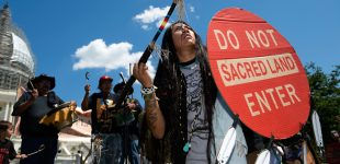 Native Activists File Suit After Trump Officials Hand Sacred Land to Foreign Mining Firm