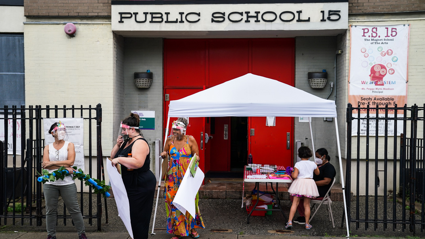 Corporate Media Bash Teachers Unions for Resisting School Reopenings Amid Rising Death Toll