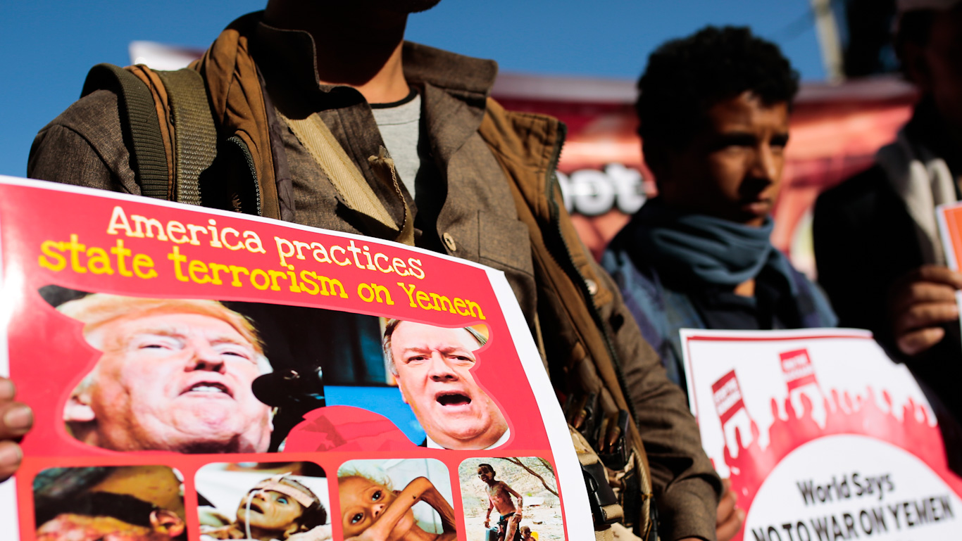 Blowback: Trump's Sanctions on Yemen Are Already Backfiring