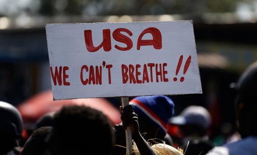 """""""Stop Interfering in Our Lives"""": Haitians Protesters Condemn US Support for Dictator"""