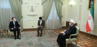 Rouhani: Sanctions removal world's chance for more economic cooperation with Iran