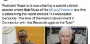 Release of the Rwandan report on the role of France in the genocide